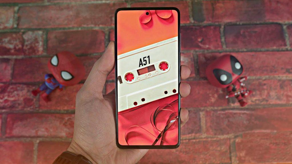 Galaxy A51 Design